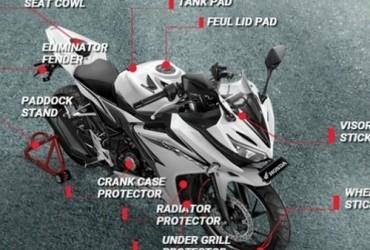 Macam-macam Aksesoris All New Honda CBR 150R