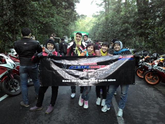 Touring dekat Cbr riders jakarta kelembang Bandung