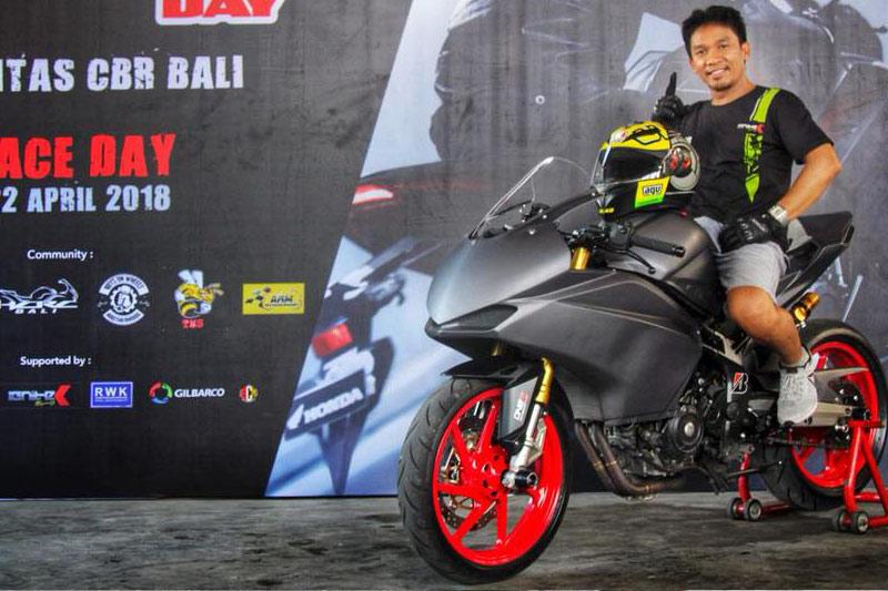 Reli Awan dan Agung Mahajaya, Dua Joki Penyalamat Honda CBR250RR Bali