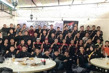 Paguyuban CBR Sumatera Utara Bentuk Pengurus Periode 2018-2020