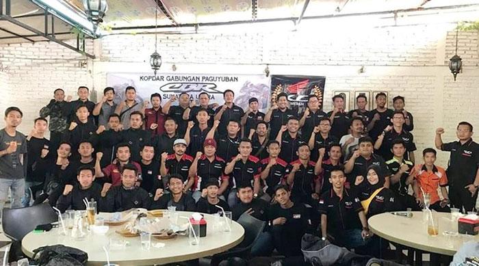 Intip Kopdar Gabungan Komunitas Honda CBR Sumut, Serunya...