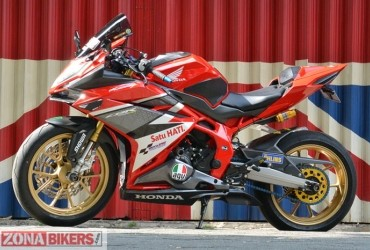 Modifikasi Honda CBR 250RR, Ganteng Maksimal Dengan Part Branded
