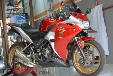 Biaya Modifikasi Honda CBR250R Ini Setara Dengan Honda CBR250RR