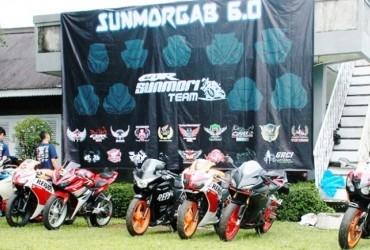 Riders CBR Nikmati Kebersamaan Dalam Sunmorgab 6.0 CBR se-Bogor Raya